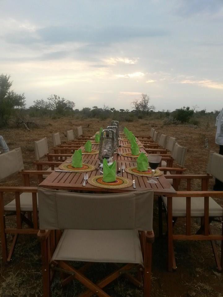 Bush dinner #dinnerunderthestars