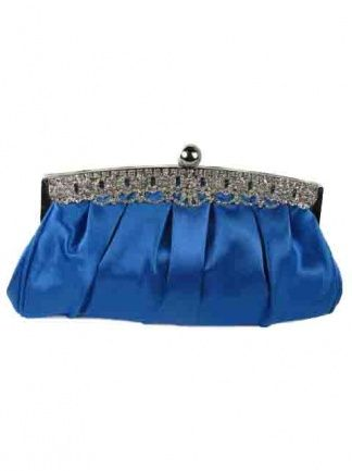 Royal Blue Clutch Bag | Royal Blue Evening Bag - Prettycool.co.uk  Only £19.99 See more at: http://www.prettycool.co.uk/blue-handbags/royal-blue-satin-and-crystal-pretty-clutch-bag.html#sthash.XkHD7vD9.dpuf