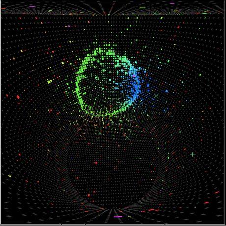 T2K neutrino event