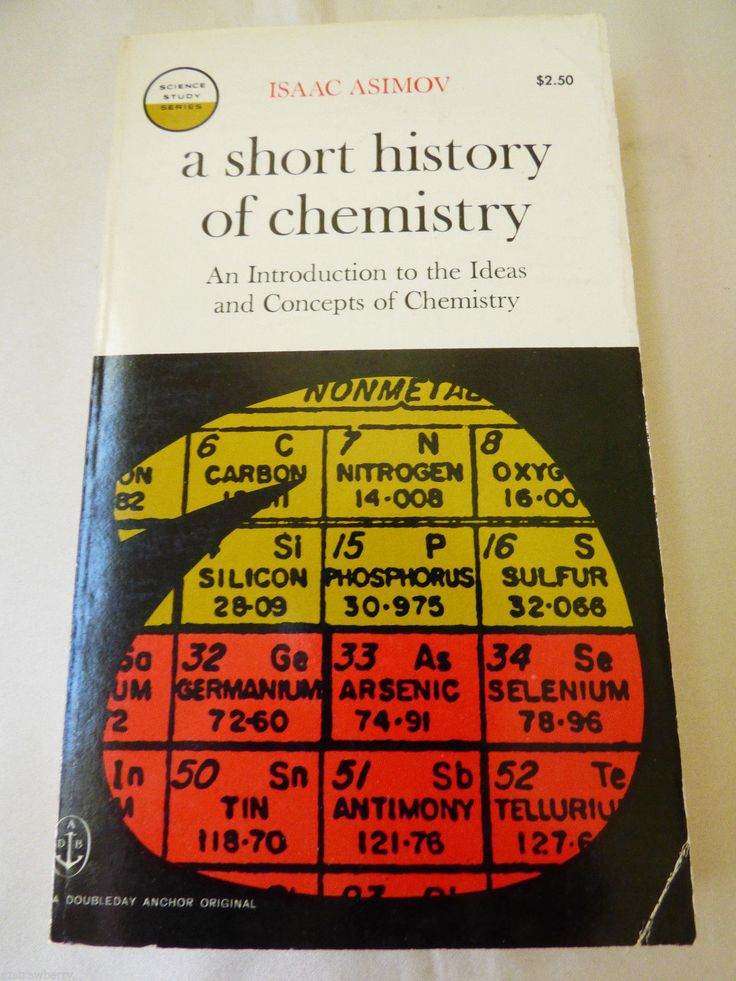 A Short History of Chemistry by Isaac Asimov English Paperback Anchor Books 1965 0385036736 | eBay