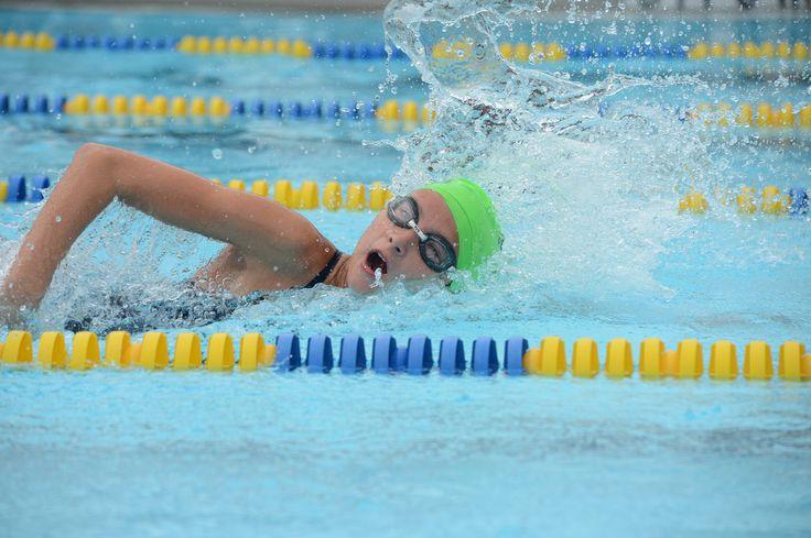 Caty swim