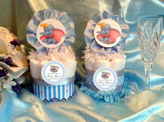 Lovely DUMBO ELEPHANT Diaper Cake Centerpieces Baby By Shadow090109, $9.99