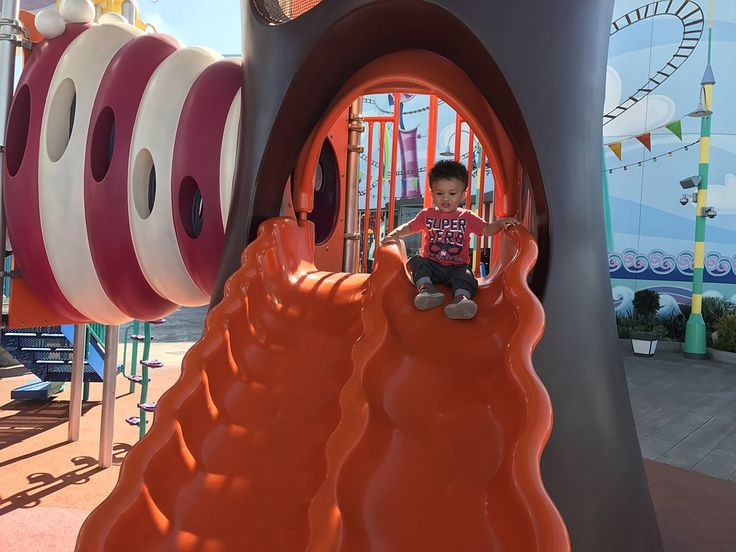 Why Going Down on a Slide with Your Toddler is Not Safe