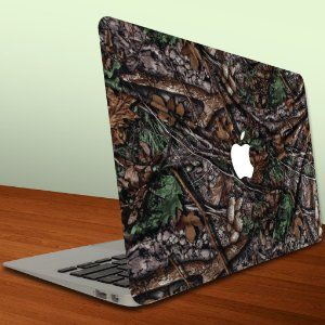 Amazon.com: Macbook Air or Macbook Pro (13-Inch) Vinyl, Removable Skin - Hunting Camo: Computers & Accessories
