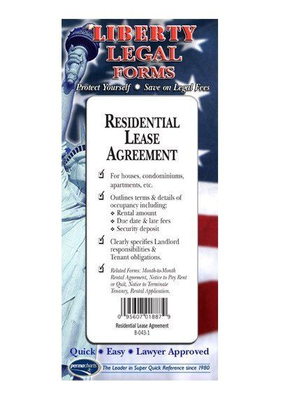 Residential Lease Agreement - USA