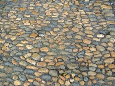 How to Lay Cobblestones With Mortar... Driveway