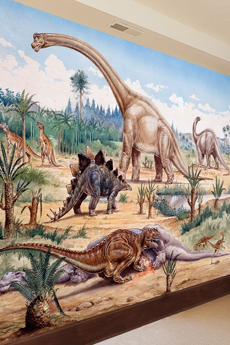 8 best natural history museum dinosaur wall murals images on dinosaurs feeding time wall mural from the natural history museum amipublicfo Image collections