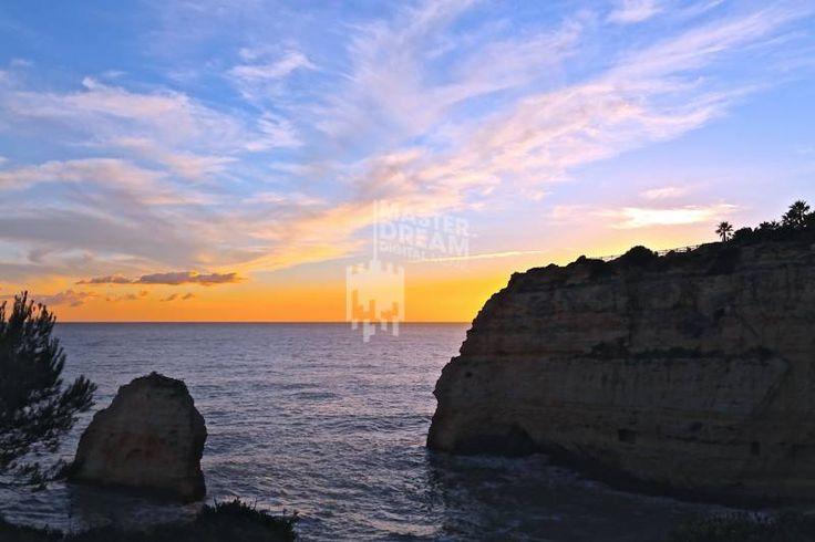 O pôr-do-sol no Algarve / The Algarve's sunset