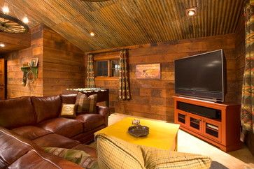 corrugated tin ceiling in a room | Corrugated Tin Ceiling Design Ideas, Pictures, Remodel, and Decor