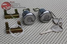 Camaro Chevelle Cadillac GM/Chevy Door Locks Set Round Head Keys