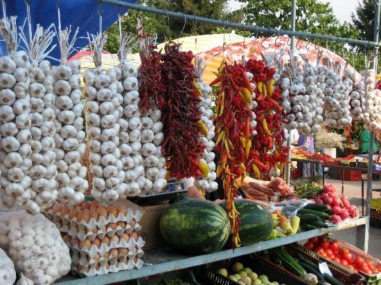 Bauernmarkt (Farmer Market) - Keszthely, Hungary