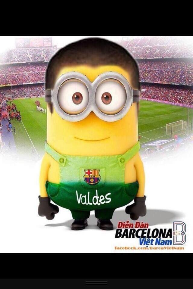 109. Soccer Minions : Victor Valdes