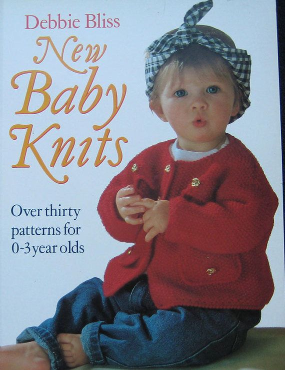 New Baby Knits Knitting Book by Debbie Bliss Knitting ...