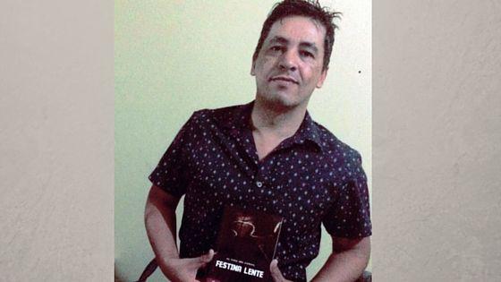 Escritor luzianiense lançará seu primeiro livro