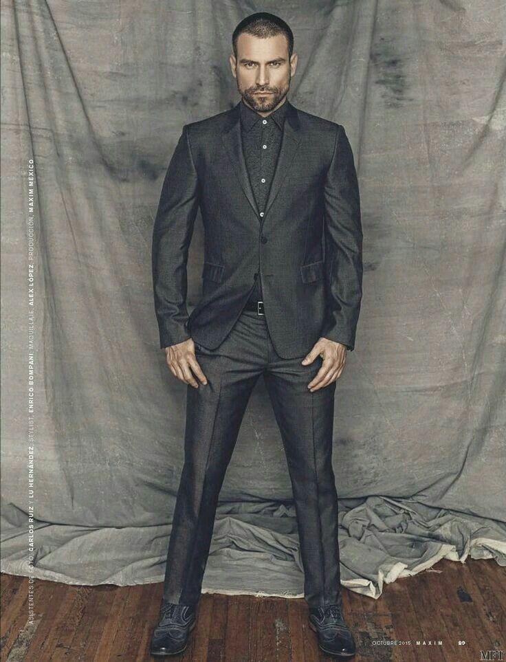"""~ † Rafael  Amaya Nunez † For October 2015 † Maxim Photo Shoot † Best Known  As Aurelio Casillas  In Telemundo""""s † El Señor de los Cielos †"""
