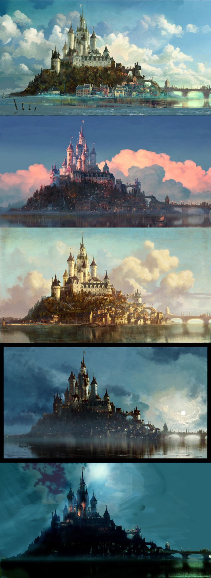 Tangled Concept Design by Laurent Ben-Mimoun