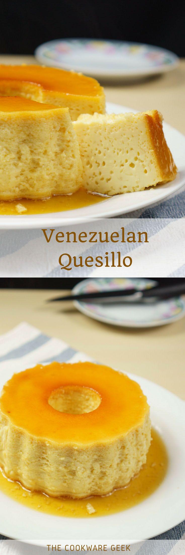 Venezuelan Quesillo (pudding) #dessert #Venezuela #quesillo | The Cookware Geek
