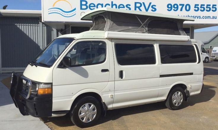 #Toyota #Campervans for sale #Australia #Caravans #Motorhomes #RVsforSale #Sydney #BeachesRvs #OffRoadCampers #PoptopCaravans #POPtopcampers