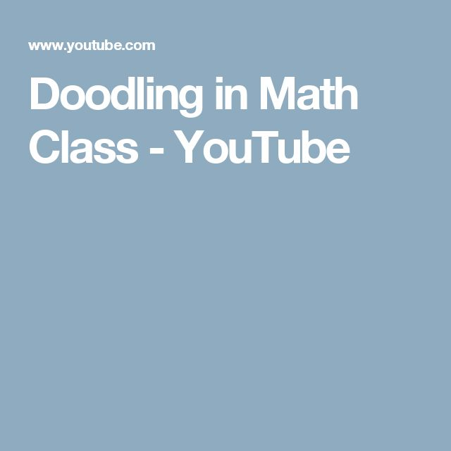 Doodling in Math Class playlist - Vi Hart - YouTube channel