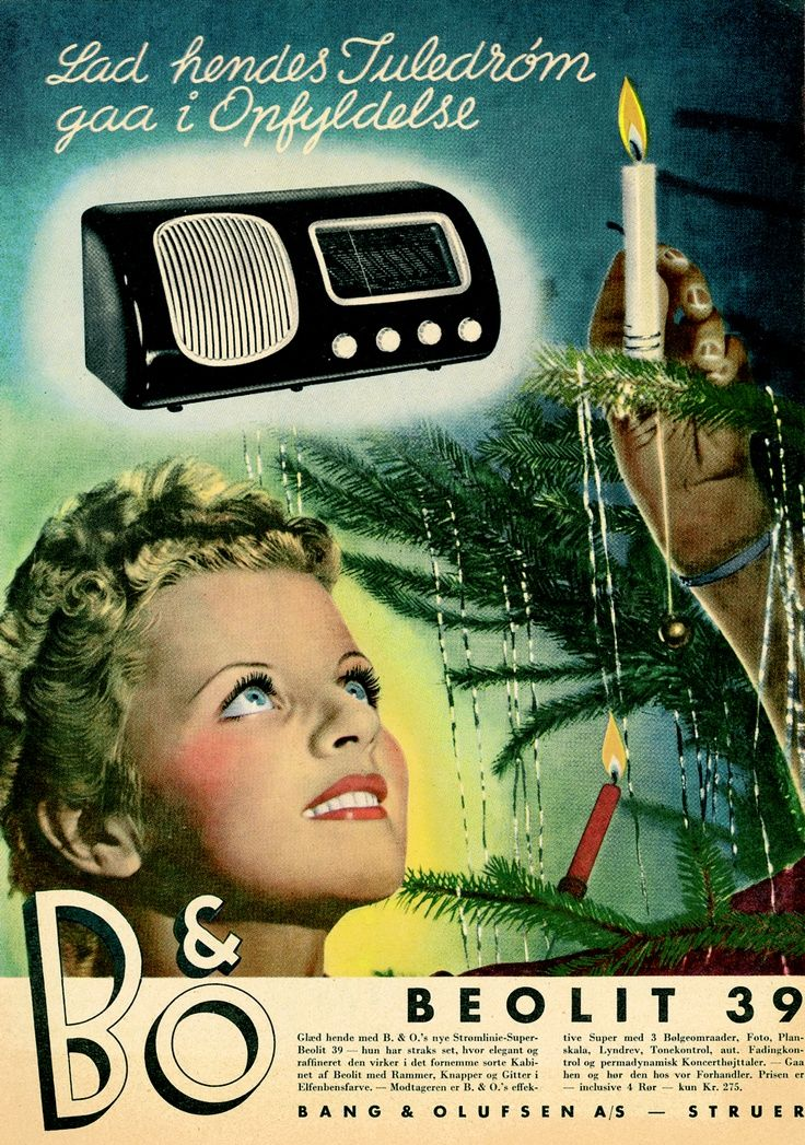 1938 the first Bang & Olufsen bakelite radio. iconic and evergreen! the Beolit 39
