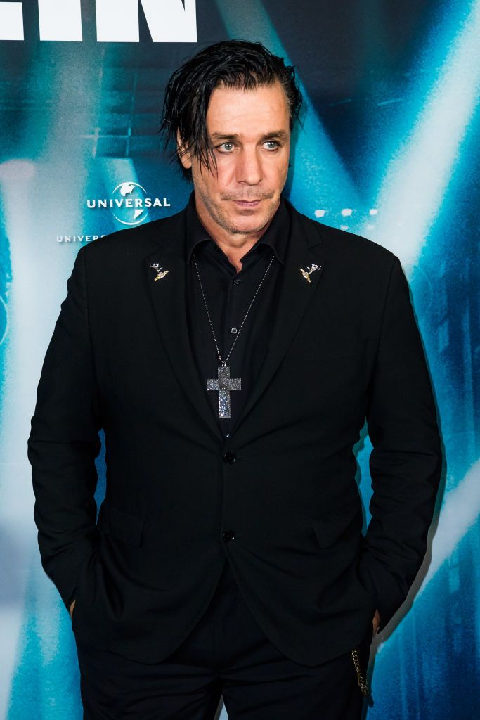 BERLIN, GERMANY - MARCH 16:  Till Lindemann attends the world premiere of the film 'Rammstein: Paris' at Volksbuehne on March 16, 2017 in Berlin, Germany.  (Photo by Matthias Nareyek/Getty Images)