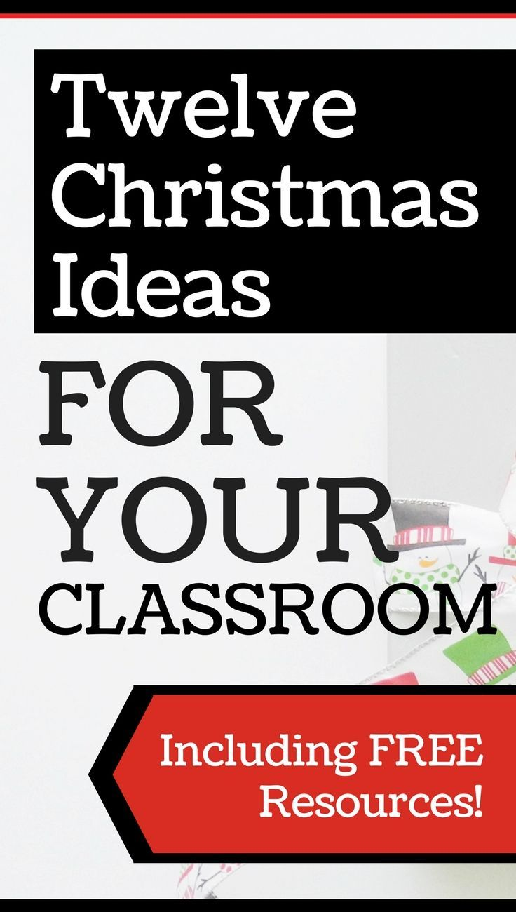 Get free Christmas resources and Christmas ideas for your classroom! #christmasintheclassroom #christmaslessons #teachingresources #teacherfreebies