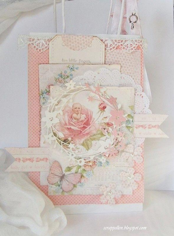 """Retrouvez les nouveautés PION DESIGN à la Boit'A Scrap http://www.boitascrap.com Sweet Baby """"Rosegirl"""""""