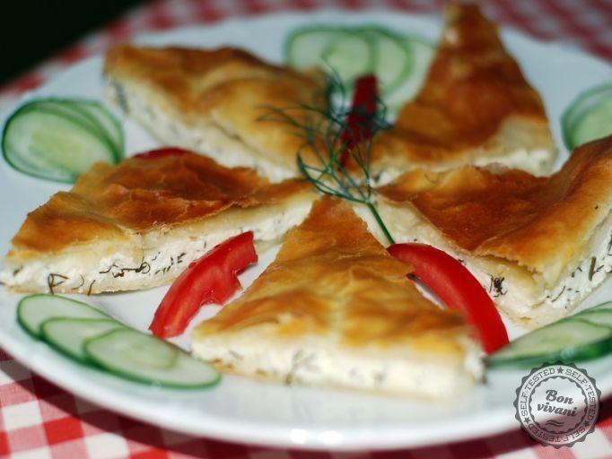 Grécky slaný koláč | bonvivani.sk
