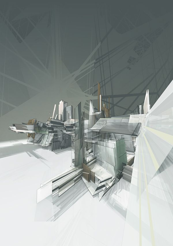 Architectural drawing media art digital paris for Diy architectural drawings