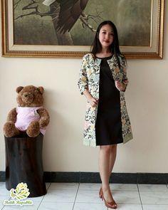 Batik dress modern , batik republic , Order by WA : +6281210197400 or Line : batikrepublic