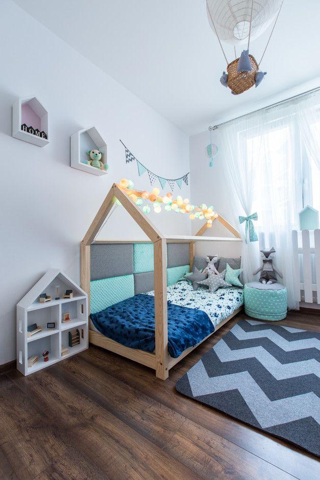 Kinderbett spielhaus  Die besten 25+ Hausbett kind Ideen nur auf Pinterest | Diy ...