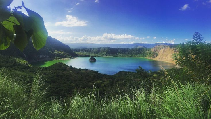 Taal Volcano Crater Philippines [OC] [4096  2315] #reddit