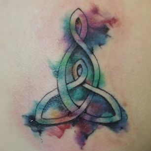 mother daughter watercolor tattoo - Google Search