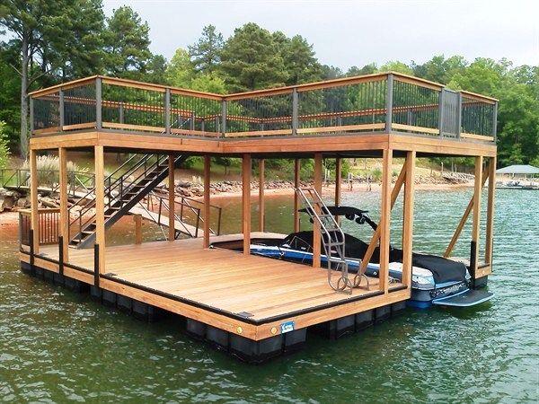 59 Best Boathouse & Dock Ideas Images On Pinterest Dock Ideas