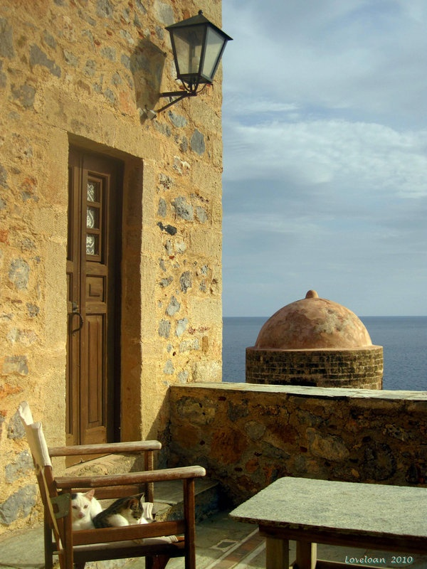 Monemvasia-Greece