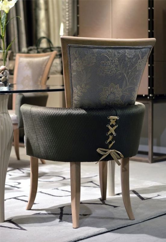 The Rosita armchair designed by Coleccion Alexandra at the Mason & Objet…