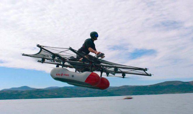 Дрон Flyer Kitty Hawk, на котором можно полетать