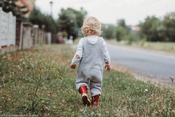 Instruções de costura para calças jardineiras: Balancins de abóbora sem elástico   – babysachen
