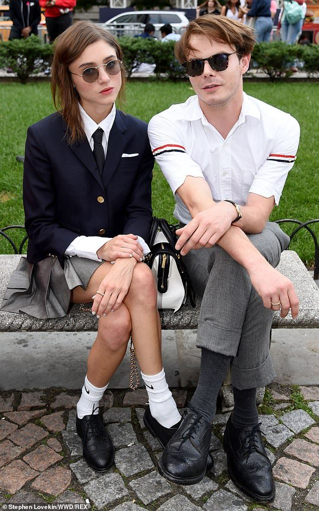 Stranger Things' Natalia Dyer and Charlie Heaton attend ...
