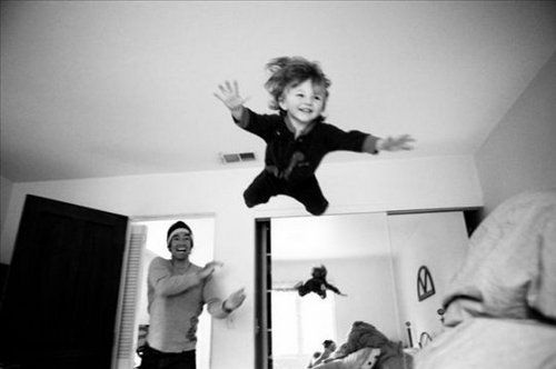 flying: Happy Thoughts, Happy Father Day, Flying, Beds, Pure Joy, Kids Photos, Pictures, Father And Sons, Children Photography