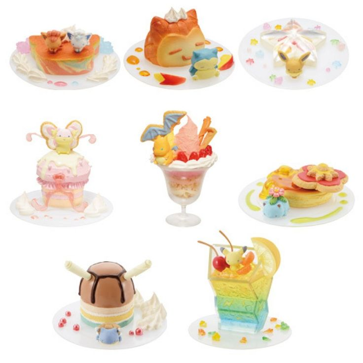 !!NEW!! *PokeCen* Pokemon Dessert Plate ~  Mini Figure Collection! (BLIND PACKED) (Release Date: 08/05/17)