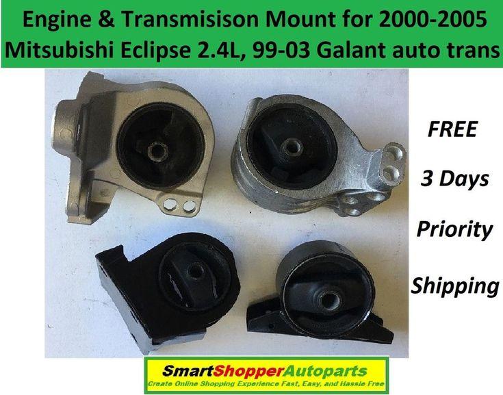 Engine & Transmission Mount For 2000-2005 Mitsubishi Eclipse 99-03 Galant 9M1605 #AftermarketProducts