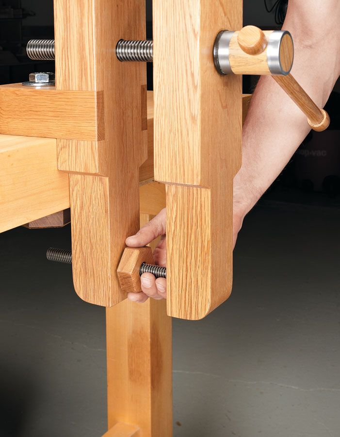 Bench Vise | Woodworking Project | Woodsmith Plans | Woodworking in