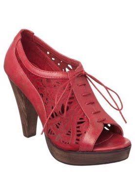 Pilar Abril BOTIN - Peeptoe - red:Trippen schuhe