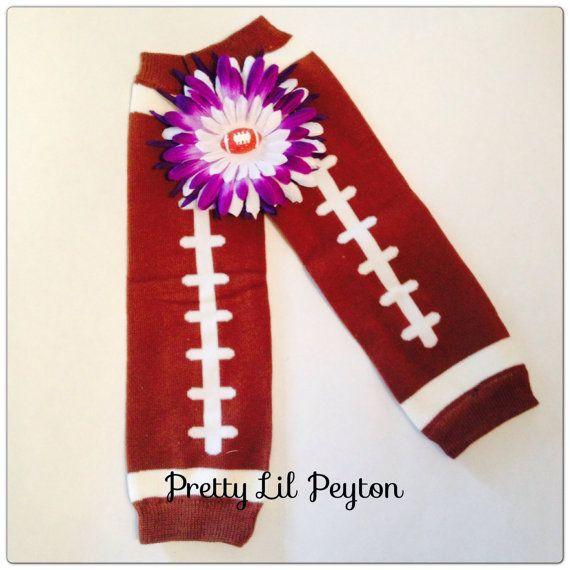 Minnesota Vikings Football Flower Hair Clip And by PrettyLilPeyton, $9.00
