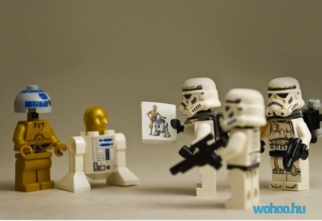 Not the droids you're looking for...