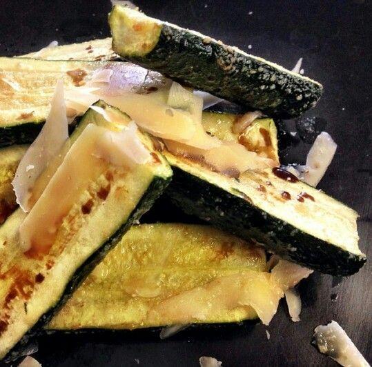 Zucchini With Parmesan And Garlic Chili Oil Recipes — Dishmaps