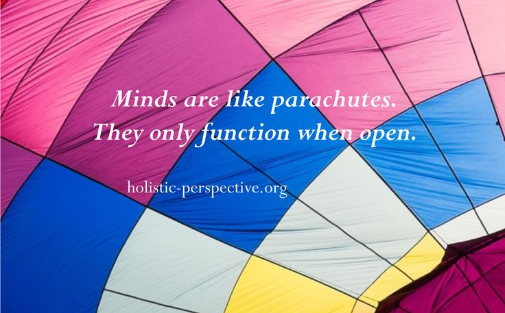 Theory of Holistic Perspective | Open minds