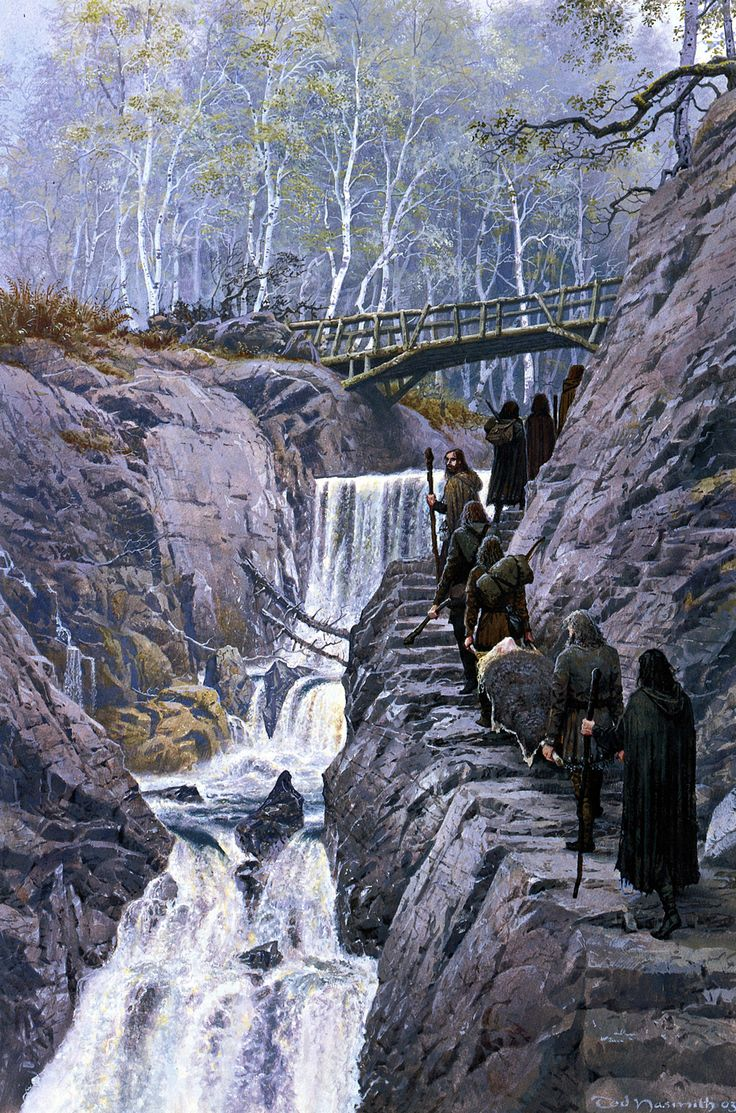 turin and ni235nor n237niel by ted nasmith middleearth