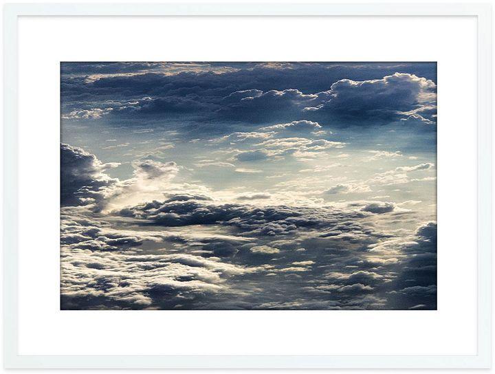 The Canvas Workshop Soaringly Landscape Framed Print, White Frame 95x75cm